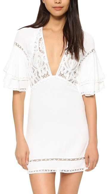 Preload https://img-static.tradesy.com/item/23059933/for-love-and-lemons-white-crochet-carmine-short-casual-dress-size-0-xs-0-1-650-650.jpg