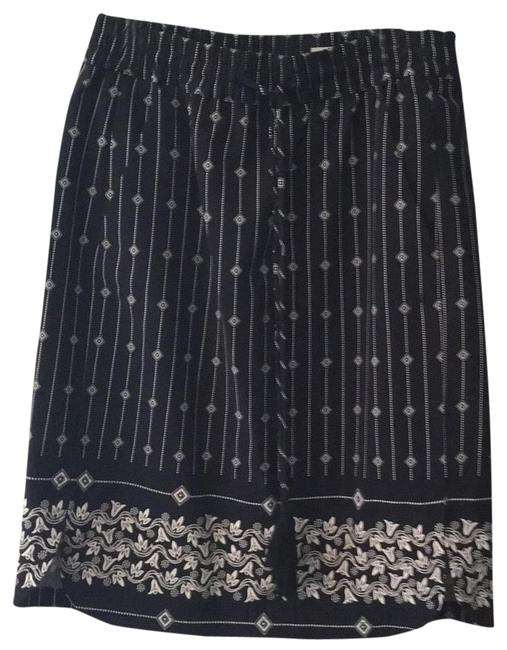 Item - Navy White 22414861 Skirt Size 4 (S, 27)