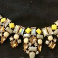 J.Crew Yellow White & Gold Statement Necklace J.Crew Yellow White & Gold Statement Necklace Image 2