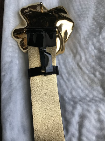 Dolce&Gabbana One of a kind- black genuine patent leather woman belt ! Image 5