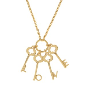 Kate Spade Kate Spade Ever and Ever Key Pendant Necklace