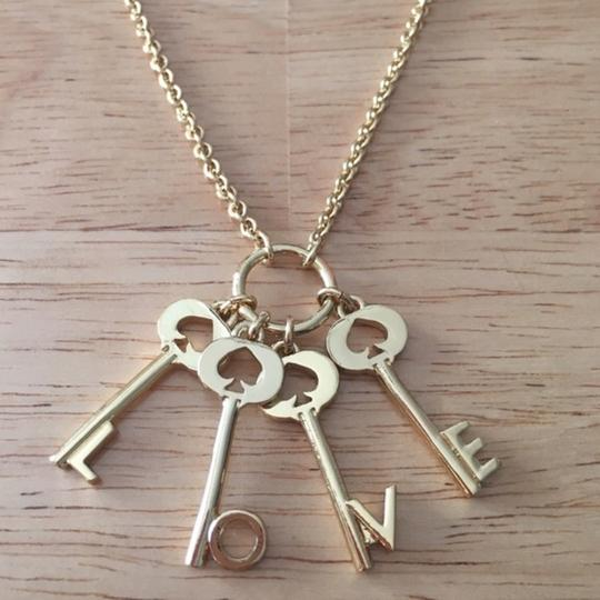Kate Spade Kate Spade Ever and Ever Key Pendant Necklace Image 3