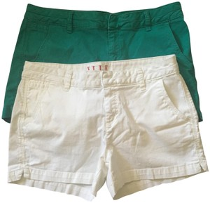 Elle Shorts white, green