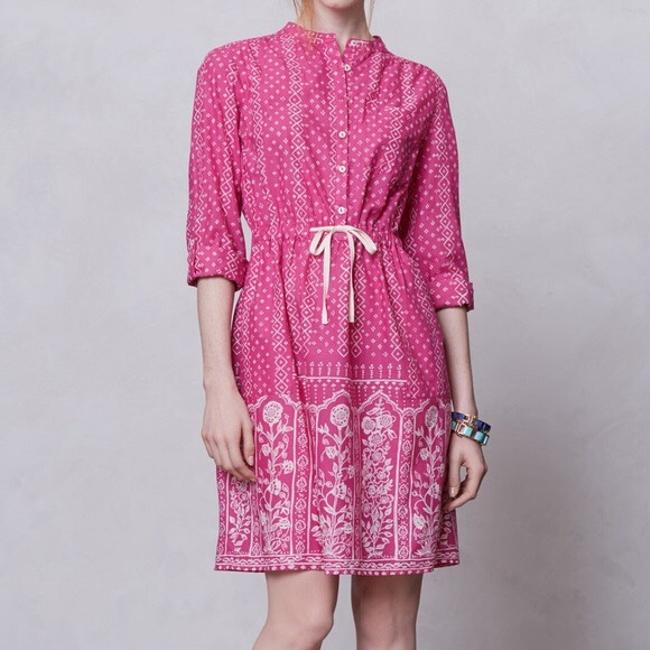 Anthropologie short dress pink on Tradesy Image 8