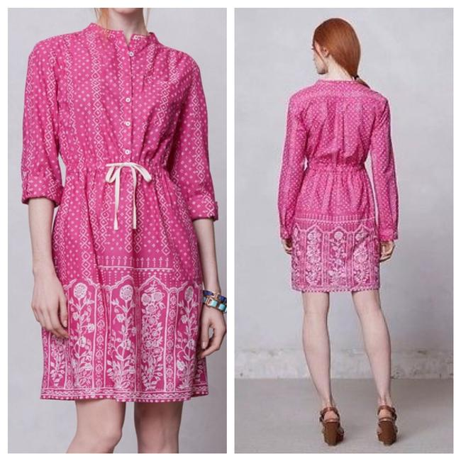 Anthropologie short dress pink on Tradesy Image 9