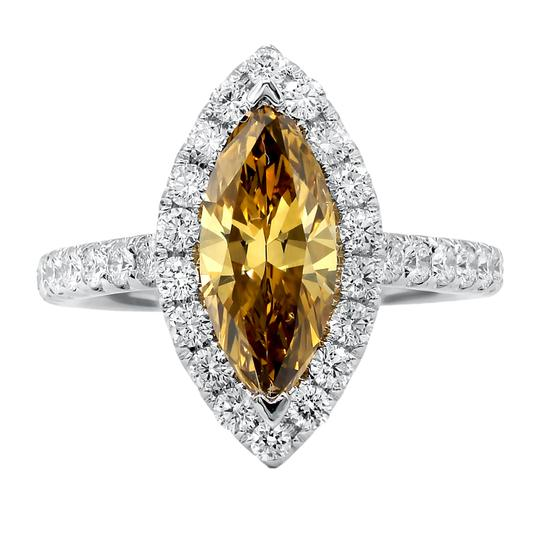 Preload https://img-static.tradesy.com/item/23060180/exquisite-fancy-yellow-brown-diamond-engagement-ring-0-0-540-540.jpg