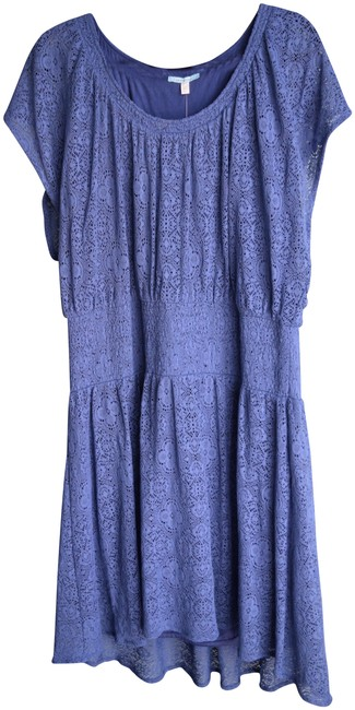 Preload https://img-static.tradesy.com/item/23060221/anthropologie-blue-leifnotes-lace-high-mid-length-short-casual-dress-size-16-xl-plus-0x-0-1-650-650.jpg