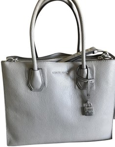 Added to Shopping Bag. Michael Kors Tote in Pearl Grey. Michael Kors Mercer  Large ... f1abd4e9d784a