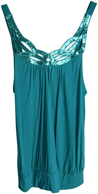 Preload https://img-static.tradesy.com/item/23060412/h-and-m-teal-sequin-tank-night-out-top-size-14-l-0-1-650-650.jpg