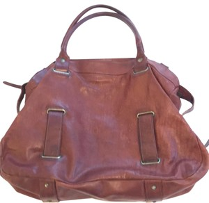 Theory Satchel in brown