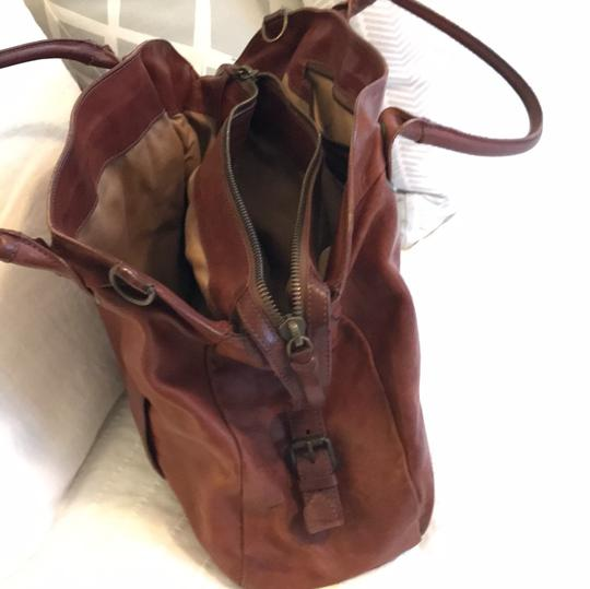 Theory Satchel in brown Image 2