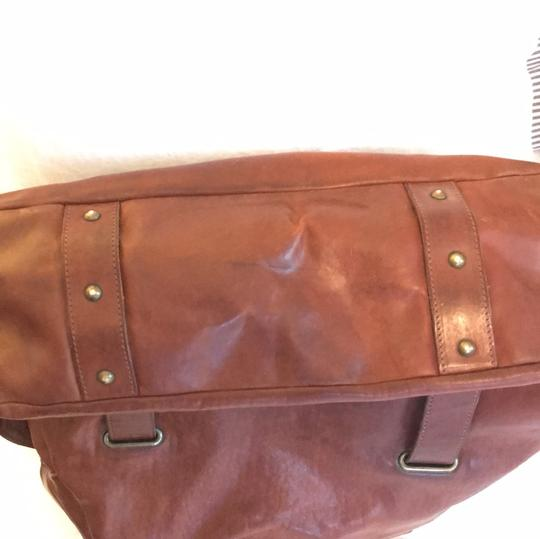 Theory Satchel in brown Image 6