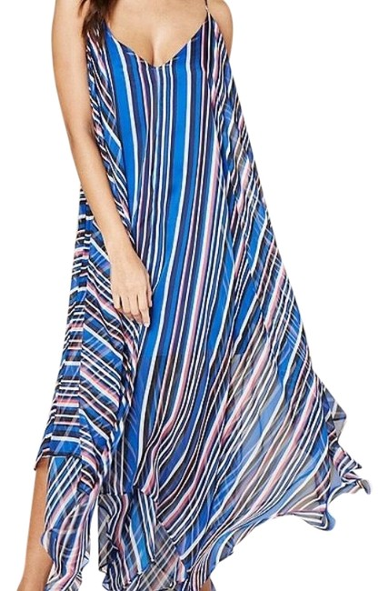 Preload https://img-static.tradesy.com/item/23060709/bebe-blue-handkerchief-long-casual-maxi-dress-size-8-m-0-3-650-650.jpg