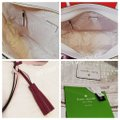 Kate Spade Leather Large Leather Tassel Smooth Leather Work Tote in Pink Image 4