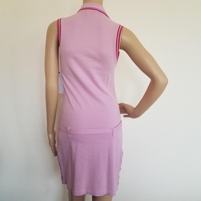 Pink, Yellow Maxi Dress by Dior Sundress Embroidered Logo Monogram Diorissimo Image 9