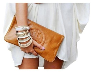 Tory Burch Luggage Clutch