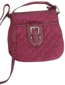 Croft & Barrow Quilted Patent Leather Shoulder Bag