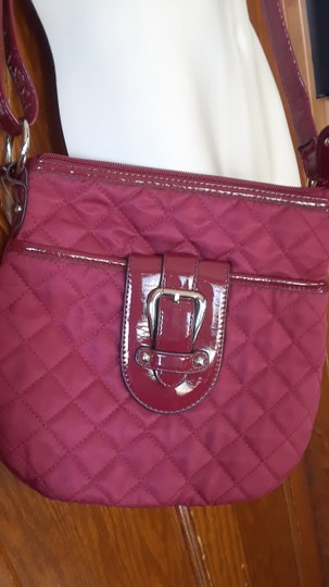 Croft & Barrow Quilted Patent Leather Shoulder Bag Image 2