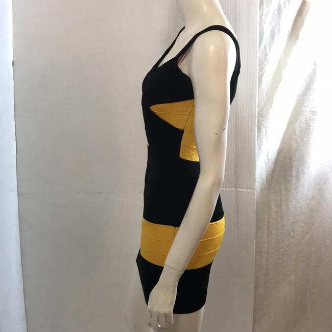 Si Style Dress short dress Black and yellow on Tradesy Image 3