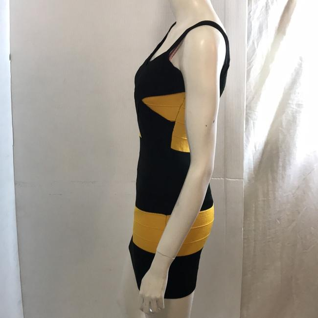 Si Style Dress short dress Black and yellow on Tradesy Image 4