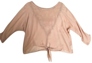 Blue Sketch Top beige