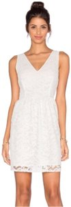 BB Dakota short dress Ivory on Tradesy