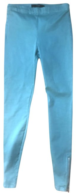 Item - Teal Light Wash The Zip Ankle Small Jeggings Size 27 (4, S)