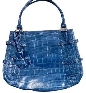 Michael Rome Satchel in Dk Denim