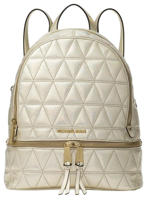 Item - Rhea Pale Golf Leather Backpack