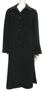 Cinzia Rocca Wool Cashmere Long 8 10 Made In Italy 43 Button Maxi Jacket M Winter Designer Trench Coat