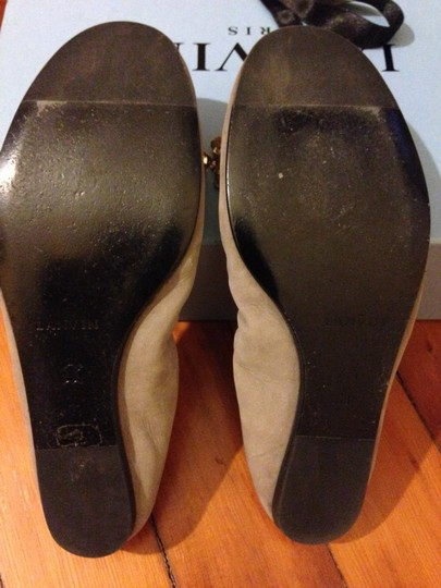 Lanvin Taupe Flats