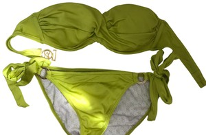 Victoria's Secret green push-up swimsuit