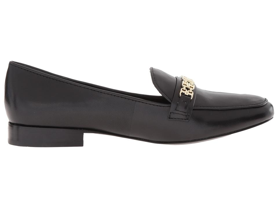 7216acaa91edc7 Tory Burch Black Gemini Link Leather Loafer Flats Size US 10.5 ...