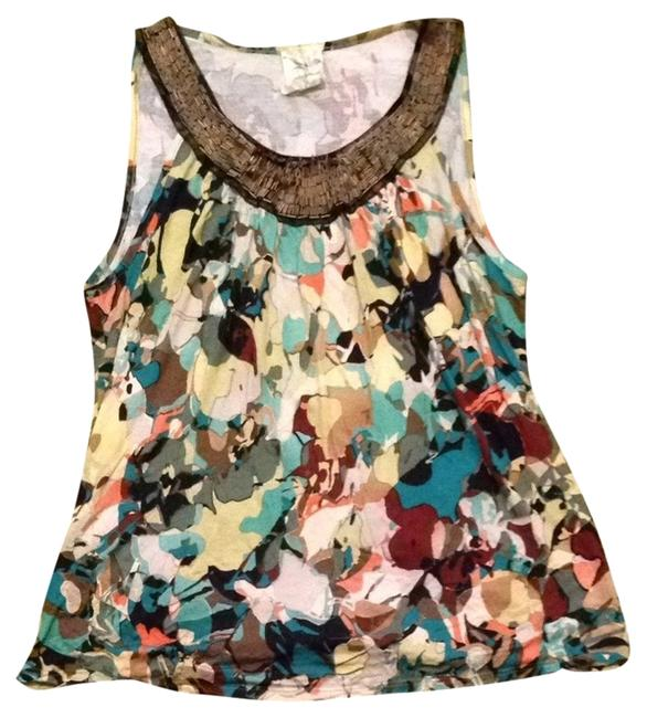 Weston Wear Soft Beads Rayon Anthropologie Top