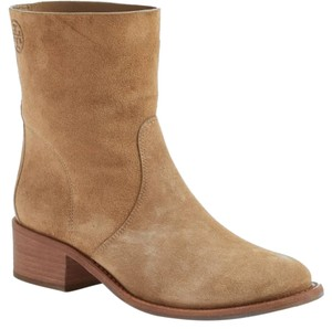 Tory Burch Western Suede Brown Boots