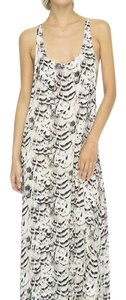 White / Printed Maxi Dress by Indah
