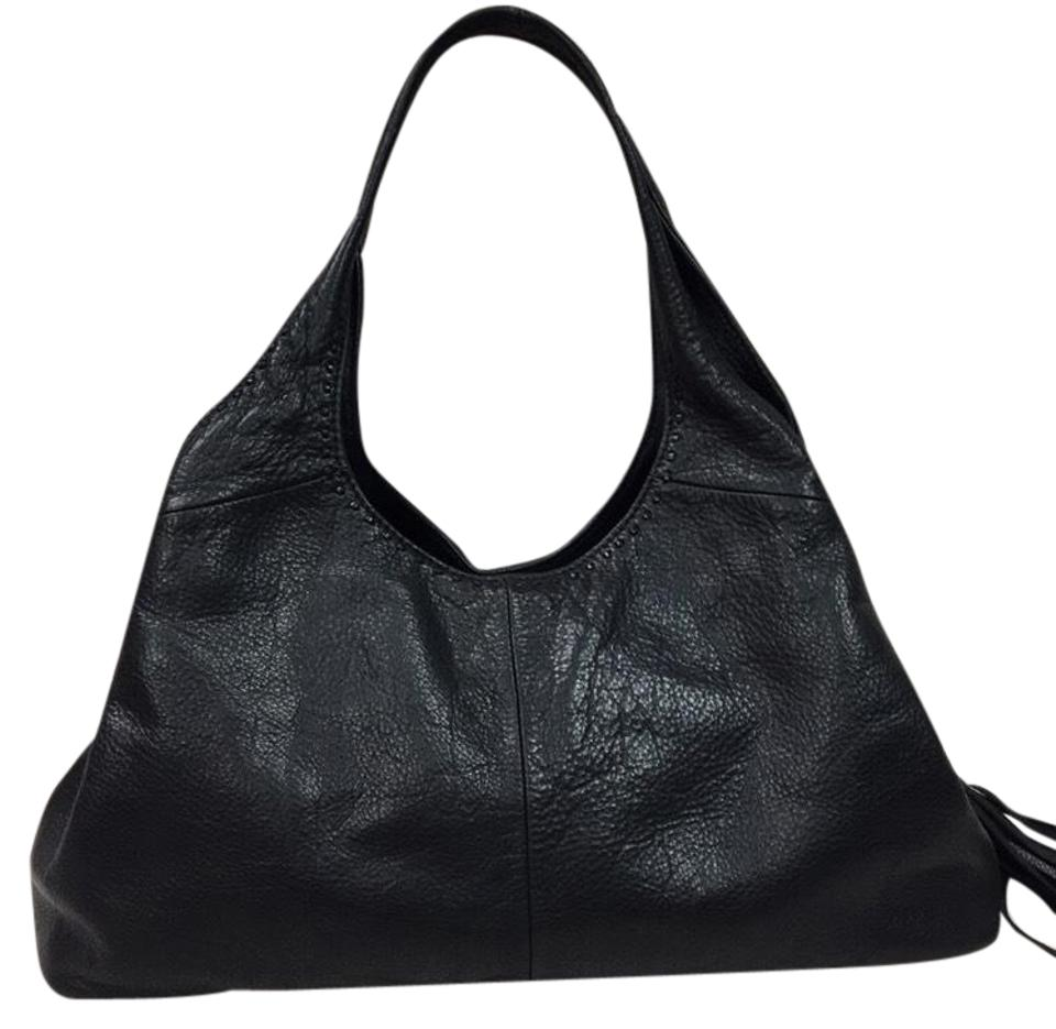 Sigrid Olsen Purse Black Leather Hobo Bag - Tradesy a324a25a3d8f3
