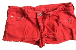 Car mar Mini/Short Shorts Red