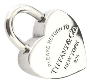 Tiffany & Co. Heart LockCharm For Bracelet or Necklace Sterling Silver Tiffany & Co.