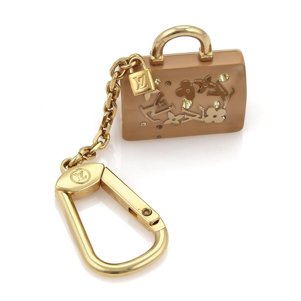 8e1de59e1570 Louis Vuitton 21938 - Speedy Bag Monogram Inclusion Key Ring - Tradesy