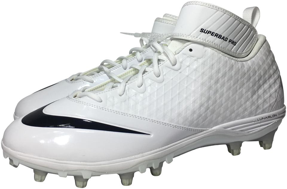 573910c11fd3 Nike White Black Men s Lunar Superbad Pro Td Football Cleats ...