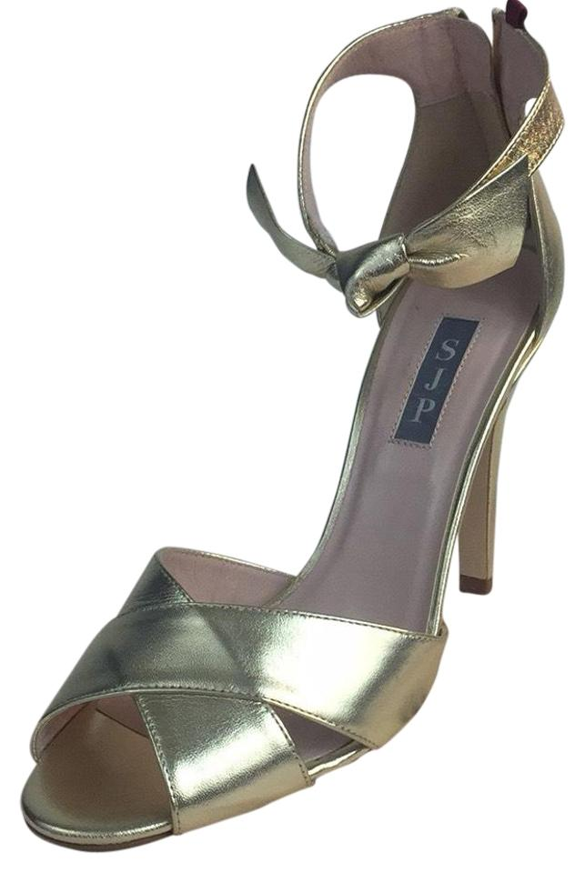 SJP by Sarah Jessica Parker Platforms Gold New Buckingham Heels Platforms Parker aebe5d