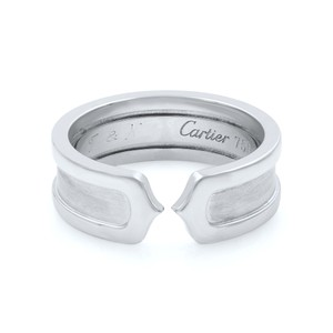 Cartier White Gold C Collection (19003) Ring