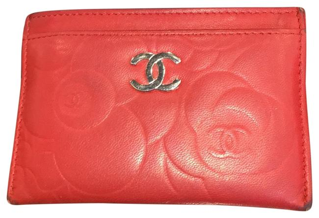 Chanel Red Lambskin Leather 5756 Wallet Chanel Red Lambskin Leather 5756 Wallet Image 2