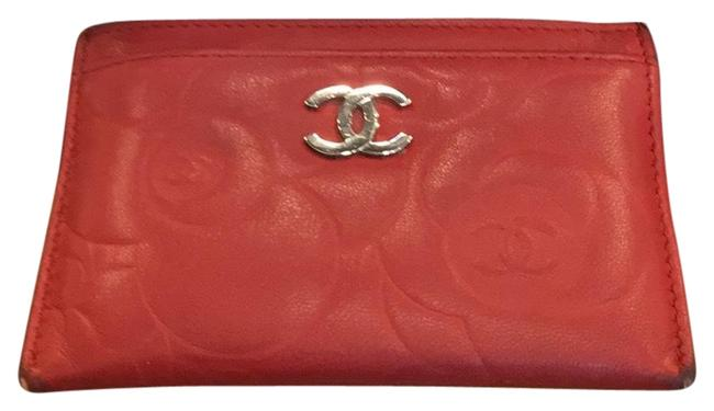 Chanel Red Lambskin Leather 5756 Wallet Chanel Red Lambskin Leather 5756 Wallet Image 3