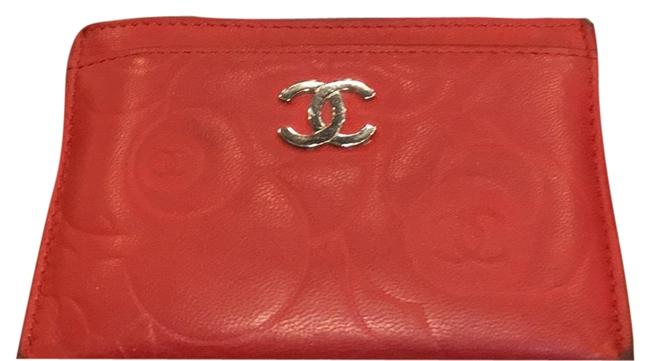 Chanel Red Lambskin Leather 5756 Wallet Chanel Red Lambskin Leather 5756 Wallet Image 4
