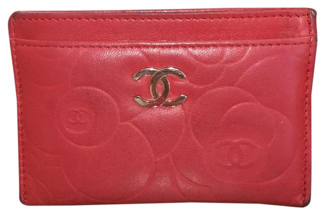 Chanel Red Lambskin Leather 5756 Wallet Chanel Red Lambskin Leather 5756 Wallet Image 5