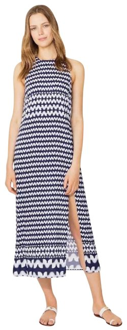 Item - Navy Windwell Midi Cover-up Mid-length Casual Maxi Dress Size 4 (S)