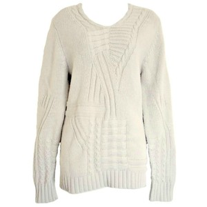 Reiss Wool Cableknit Cable London Sweater
