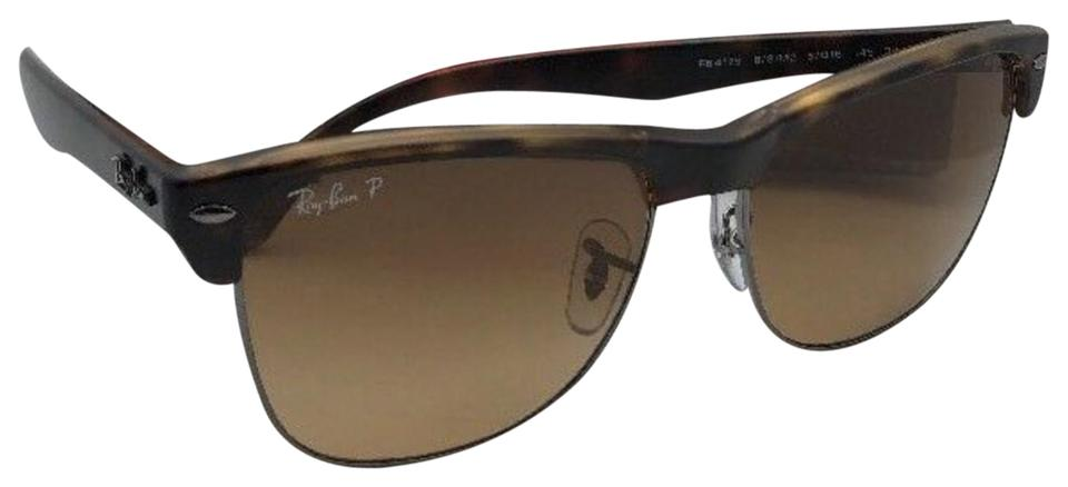 6e45b083b1f4b Ray-Ban Polarized RAY-BAN Sunglasses CLUBMASTER OVERSIZED RB 4175 878 M2  Image ...